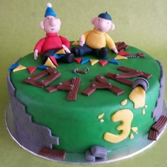 taart buurman en buurman - dubbelhandig