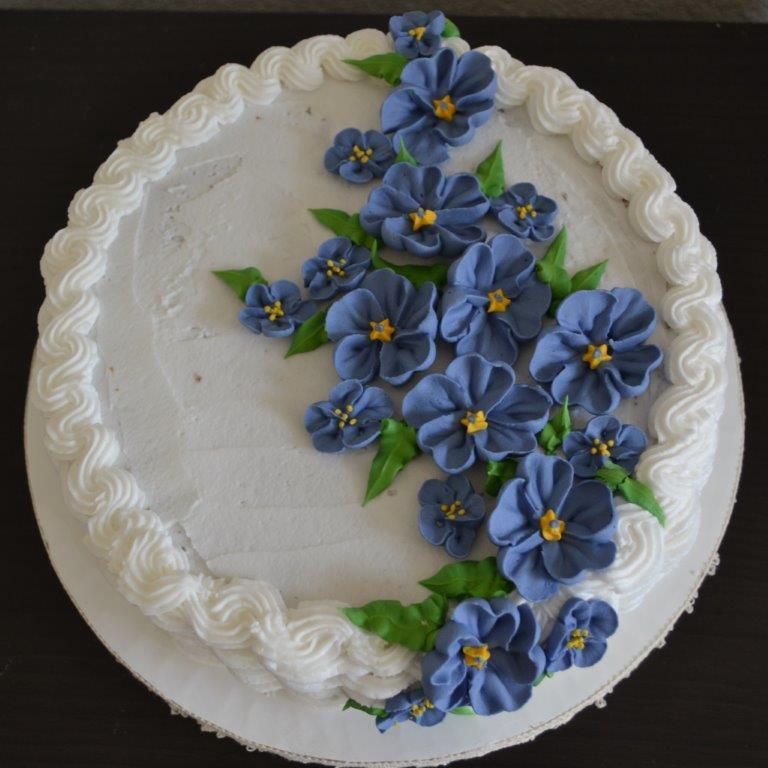 mandblauwebloemen