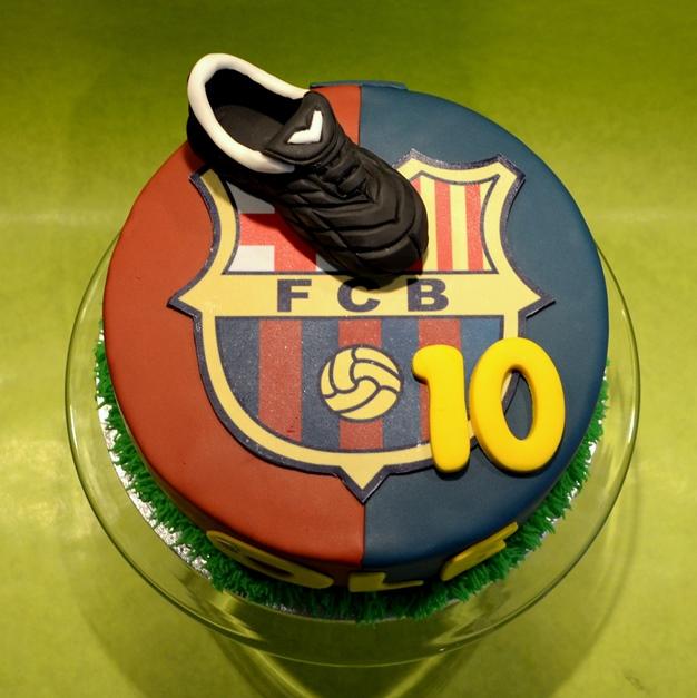 barcelona taart taart fc barcelona   dubbelhandig barcelona taart