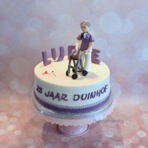 taart 25 jaar verzorgende