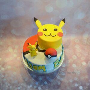 stapeltaart pikachu pokemon go