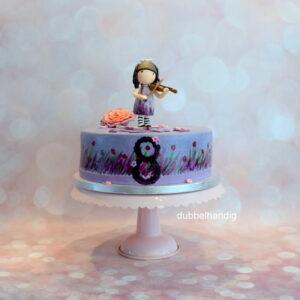 taart gorjuss met viool