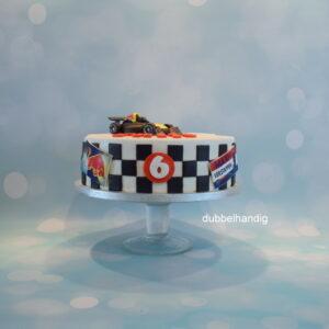 taart max verstappen raceauto