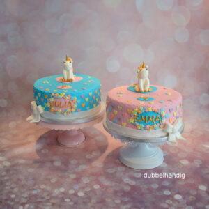 unicorn taartjes
