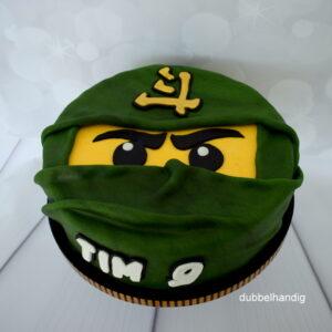 taart lego ninjago groen