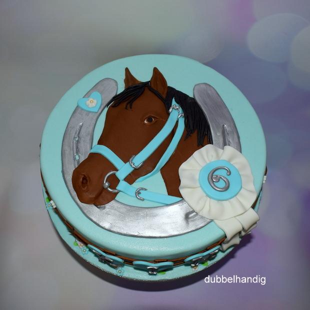 Voorkeur taart paard en hoefijzer - dubbelhandig @EX13