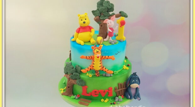 stapeltaart winnie the pooh
