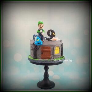 taart luigi mansion