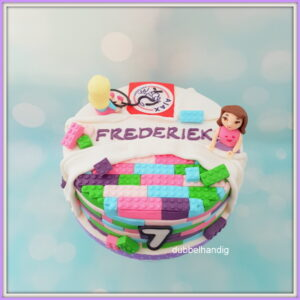 taart lego friends en ajax