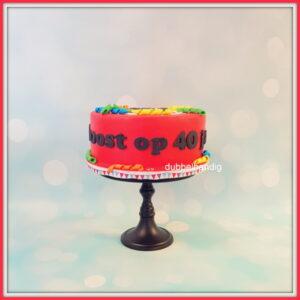 taart 40 jaar