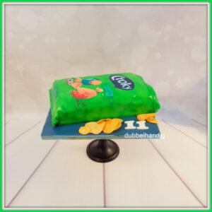 3D taart chipszak croky