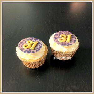 cupcake leopardprint
