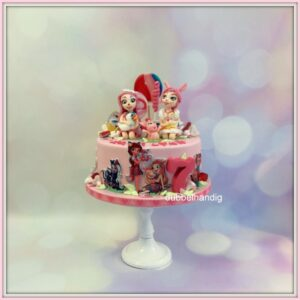 taart enchantimals-snoep