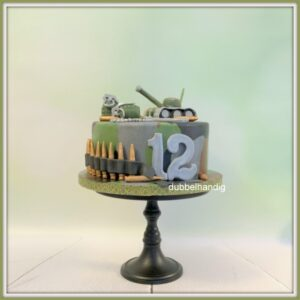 taart leger-thema