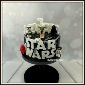 taart lego star wars
