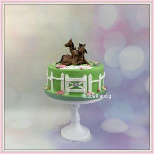 taart paarden