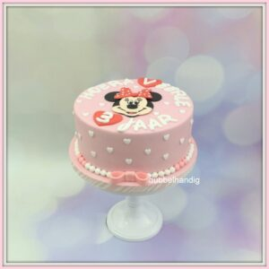 taart minnie mouse