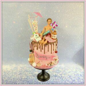 taart barbie-drank-drip