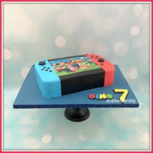 3d taart switch super mario