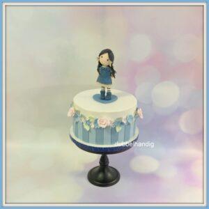 taart gorjuss blauw