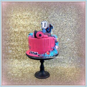 taart in sjieke tiktok-stijl
