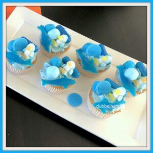 cupcakes zwemdiploma-snoep
