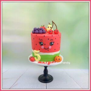 stapeltaart watermeloen