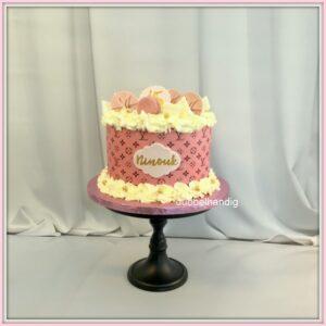 taart roze merk