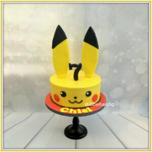 taart pikachu pokemon