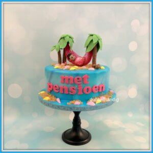 taart met hangmat