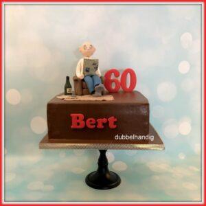 taart oude man 60 jaar